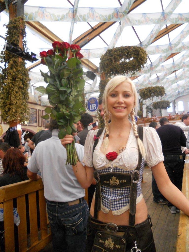 Hottest Oktoberfest Girl