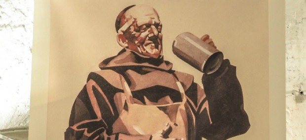 Man's beer-only diet, from the monks