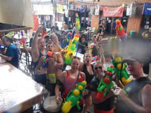 Songkran Festival Thank You