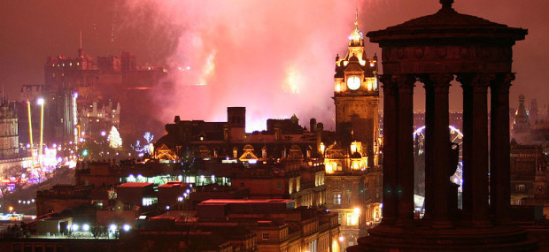 Hogmanay - Author Robbie Shade Wikimedia Commons Public Domain