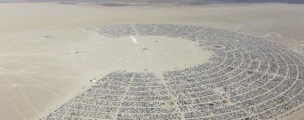 Burning-Man-Festival - Author Kyle Harmon Wikimedia Commons Public Domain