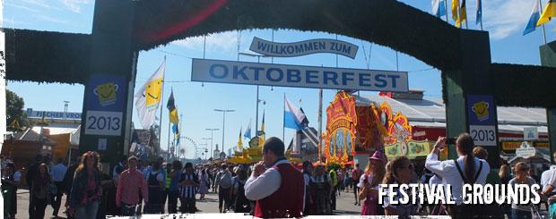 Oktoberfest Tours Festival Grounds