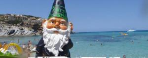 Smash the thirsty gnome