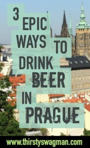 3 epic ways to drink beer in Prague | PUB Praha | Beer spa | Czech Republic | Drinking culture | Where to drink | Travel tips
