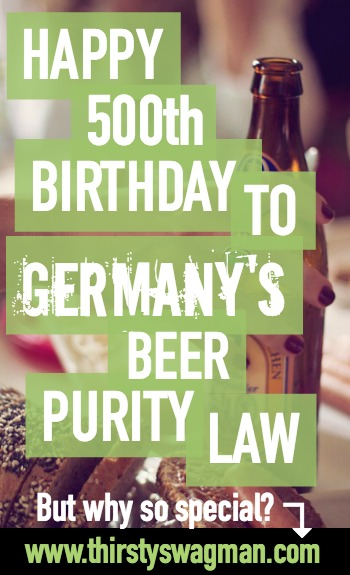 Reinheitsgebot | Germany's beer purity law turns 500 years old | hops barley yeast water | German beer | Bavaria |