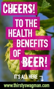 Cheers! To the Health Benefits of Beer!   Mind, Body, Soul   Alzheimer's Disease   Parkinson's   heart and kidney health   de-stress