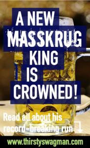 Masskrug champion | Beer stein carrying contest | liter stein | Mass beer | Maß | Hofbrauhaus | competition | world record