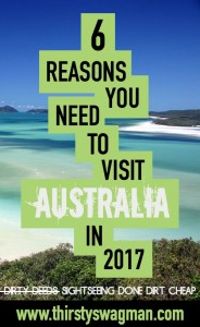 Why Visit Australia | 2017 travel | safest countries | friendliest countries | inexpensive/cheap sightseeing | Beaches and Beer | Chris Hemsworth