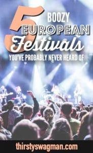 5 Booze European #Festivals You've Probably Never Heard Of | Las Fallas, Valencia, Spain | Beer Floating, Helsinki, Finland | Baumblutenfest, Berlin, Germany | Oerol Festival, the Netherlands | Batalla de Vino, Spain | #LaTomatina | #Oktoberfest #traveltips