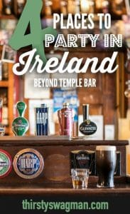 4 Places to Party in #Ireland Beyond #Dublin's #TempleBar | Irish pub scene | Galway | Sligo | Belfast | The Fleadh Festival