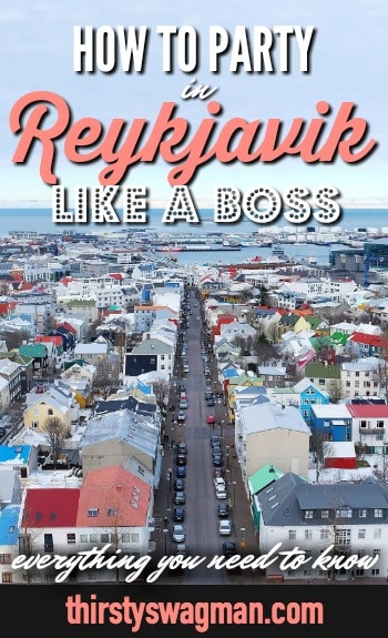 Everything you need to know to party in #Reykjavik, #Iceland like a boss | Icelandic beer history | prohibition | Kaldi Bar, #LewbowskiBar, runtur | Nordic Rock Tour #traveltips