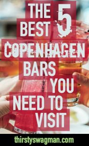 The 5 Best Copenhagen Bars You Need to Visit | Copenhagen, Denmark | Craft cocktails, beer, wine, spirits | Drinking scene