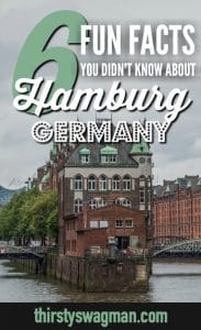 6 Fun Facts You Probably Didn't Know about #Hamburg #Germany | #traveltips