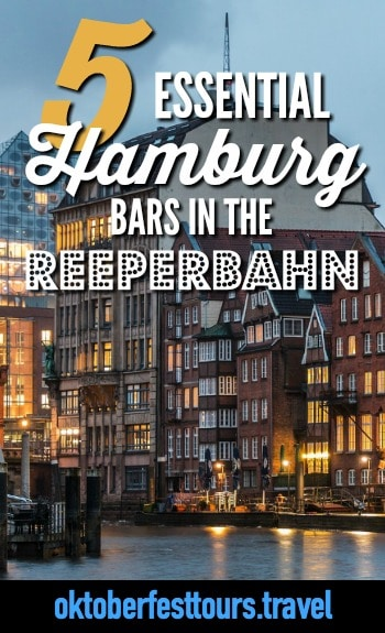 Party On at These 5 Essential Reeperbahn Bars in Hamburg, Germany | Where to go in Hamburg | Hamburg bars | Where to drink in Hamburg, Germany