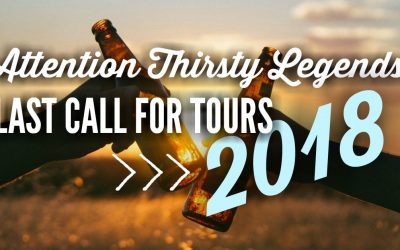 Last Call 2018 Tours