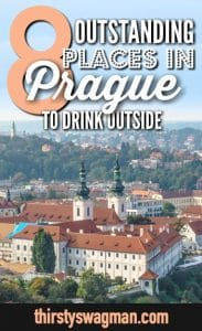 8 Outstanding Outdoor Places to Drink in Prague, Czech Republic, Czechia   Prague beer gardens and rooftop bars with great views.