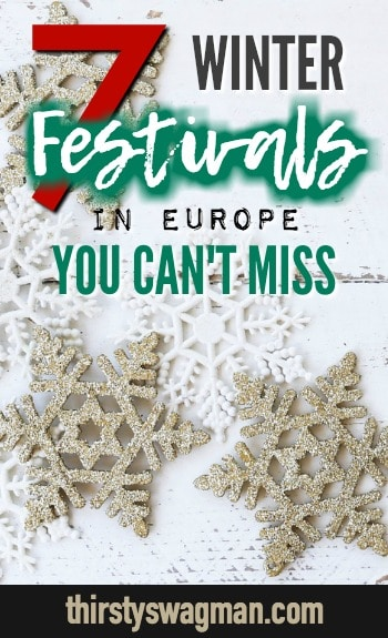 7 Cool Winter Festivals in Europe You Can't Miss | Hogmanay, Carnival, Up Helly Aa, Fete du Citron, Amsterdam Light Festival, Ice Sculptures, La Tamborrada #festivals #wintertravel #traveltips #carnival #hogmanay