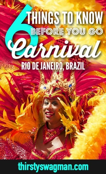 6 Things to Know Before You Go to Carnival in Rio de Janeiro, Brazil | #rio #carnival #riocarnival #brazil