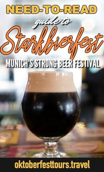 Guide to Starkbierfest, Munich, Germany's strong beer festival