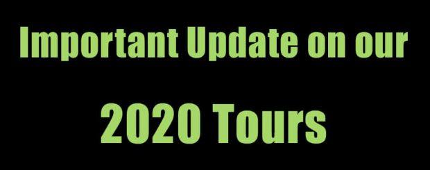 2020 Tour Update
