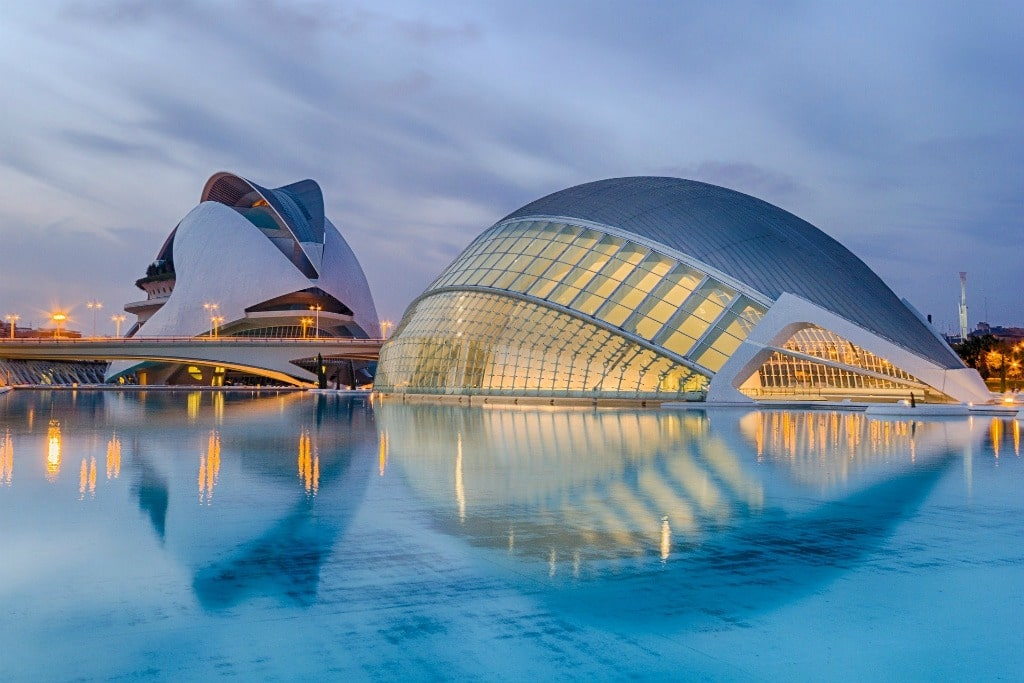valencia spain arts and sciences