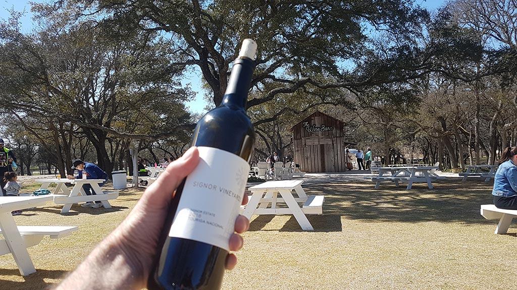 Signor Vineyard Texas Wine Country